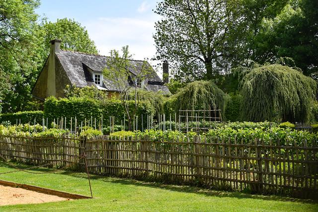 Cottage Garden at the Jardins de Eyrugnac #gardens #eyrugnac #dordogne #france #travel