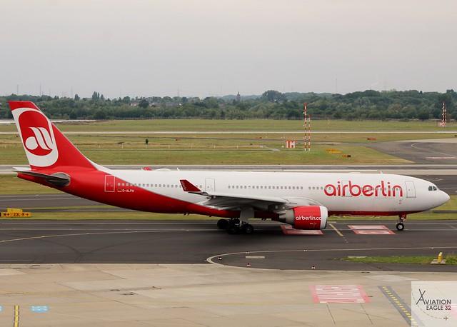 Air Berlin A330-223 D-ALPH, Canon EOS 1200D, Canon EF 75-300mm f/4-5.6 USM