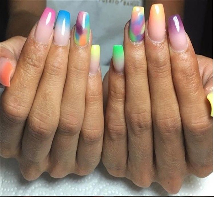 Top 35 Acrylic Nail Art Ideas On Instagram 2018