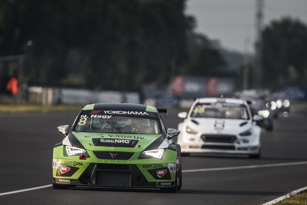 08 NAGY Norbert, (hun), Seat Cupra TCR team Zengo Motorsport, action during the 2018 FIA WTCR World Touring Car cup race of Slovakia at Slovakia Ring, from july 13 to 15 - Photo Jean Michel Le Meur / DPPI