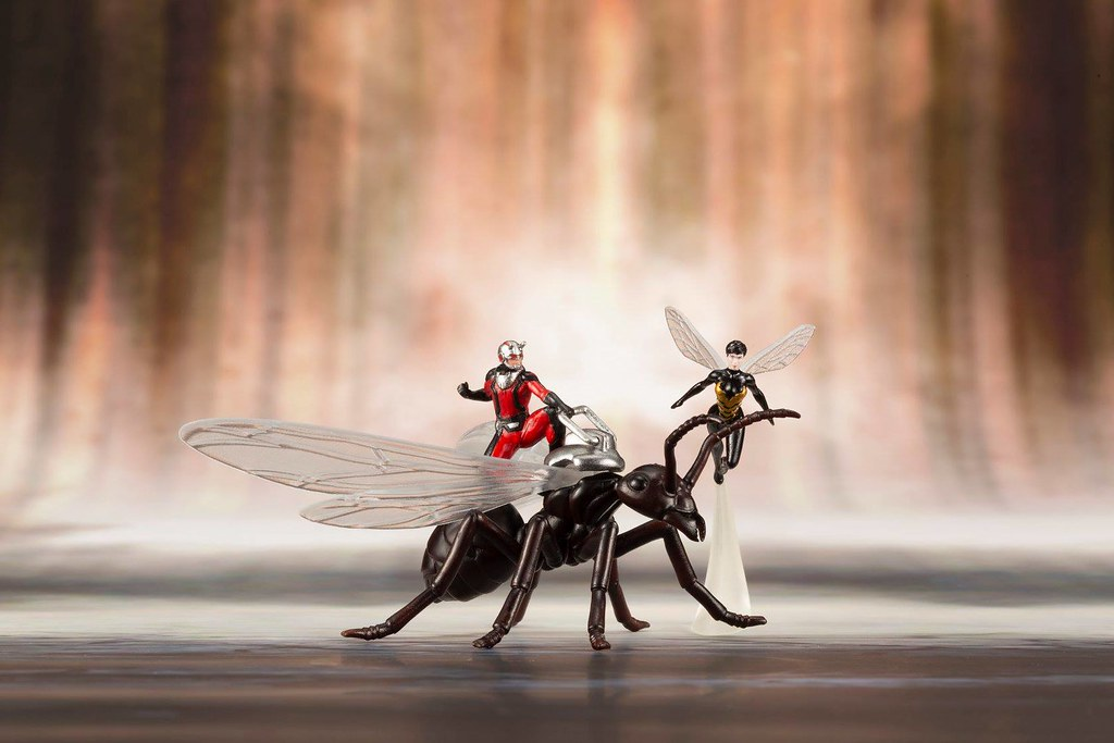 「新增販售資訊!」漫畫版的蟻人頭盔真的超讚~壽屋 ARTFX+ 系列 Marvel Comics【蟻人與黃蜂女】アストニッシングアントマン&ワスプ