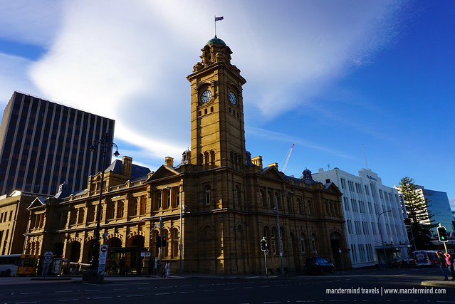 Hobart GPO Clock Tower