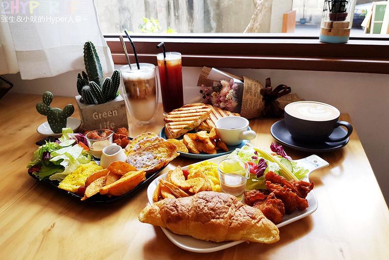 台中下午茶,台中咖啡,台中早午餐,台中美食,台中輕食,肉肉咖啡,肉肉咖啡菜單 @強生與小吠的Hyper人蔘~