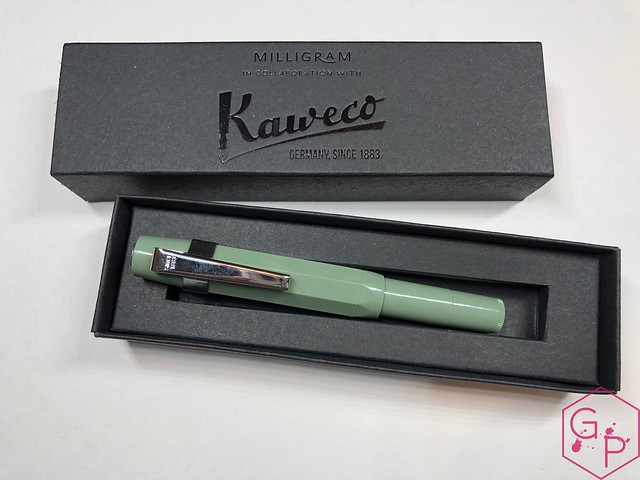 Kaweco x Milligram Skyline Sage Fountain Pen Review @Kaweco_Germany @MilligramStore 2