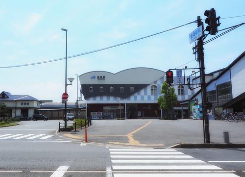 豊岡駅舎全景