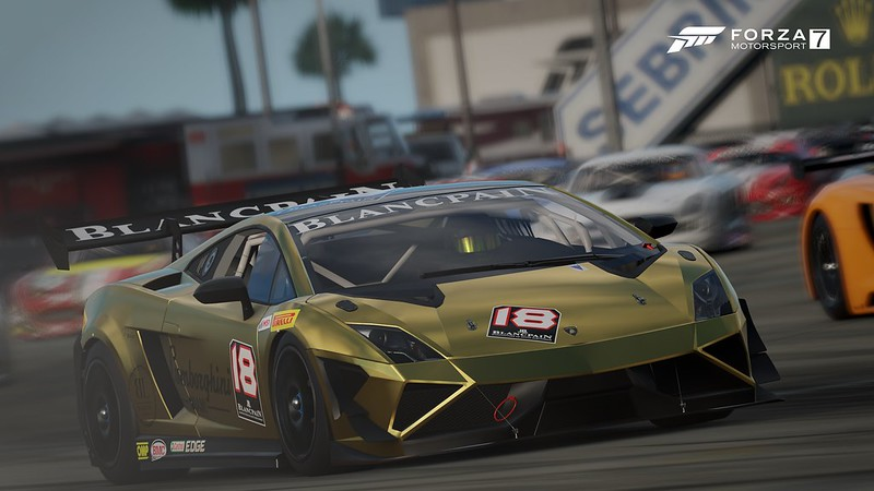 2014 Lamborghini #18 DragonSpeed Gallardo LP 570-4 Super Trofeo