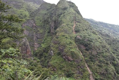 小鬼瀑布-小錐麓-下切溪谷