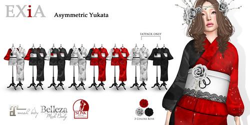 EXiA Asymmetric Yukata AD
