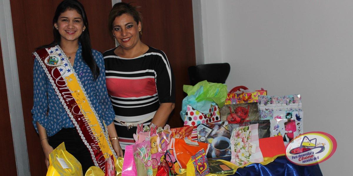 Señorita Fundación de Chone recibió premios