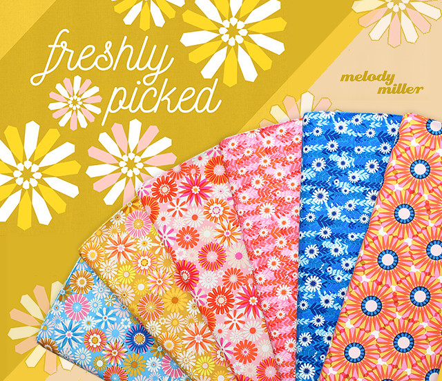 COTTON+STEEL Freshly Picked Collection by Melody Miller