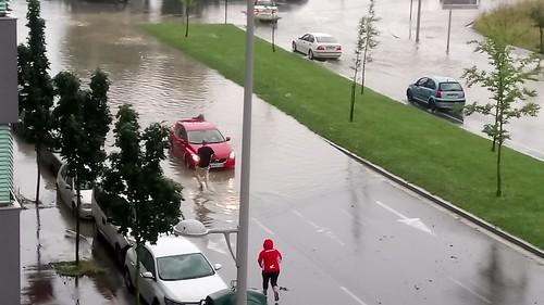 Granizada en Vitoria-Gasteiz