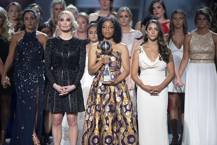 Survivors of Larry Nassar Awarded with Arthur Ashe Courage Award at ESPY Awards