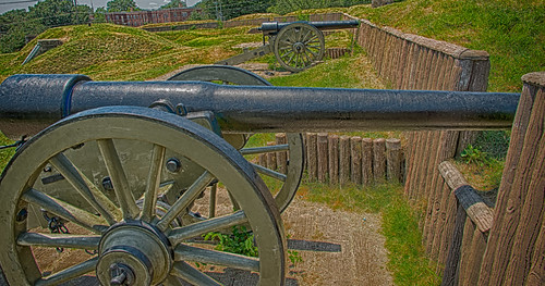 30-Pound Parrott Rifles at Fort Stevens