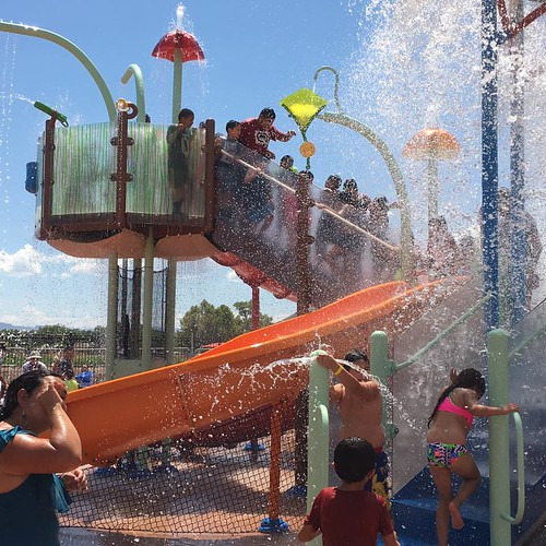 South Valley Splashpad Grand Opening