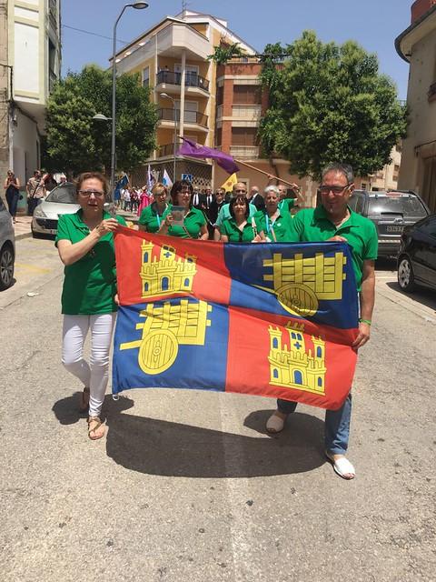 Asociación de Alfombristas de Carrión de los Condes en Elche de la Sierra