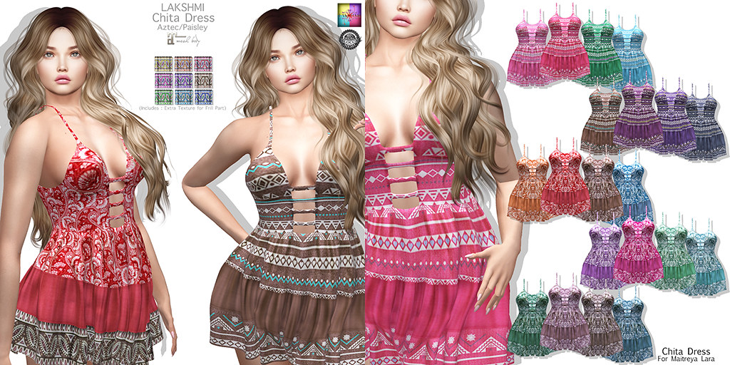 [LAKSHMI]Chita Dress - TeleportHub.com Live!