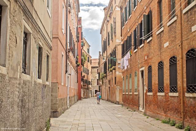 Una delle calli di Santa Croce, curiosità sestiere Santa Croce