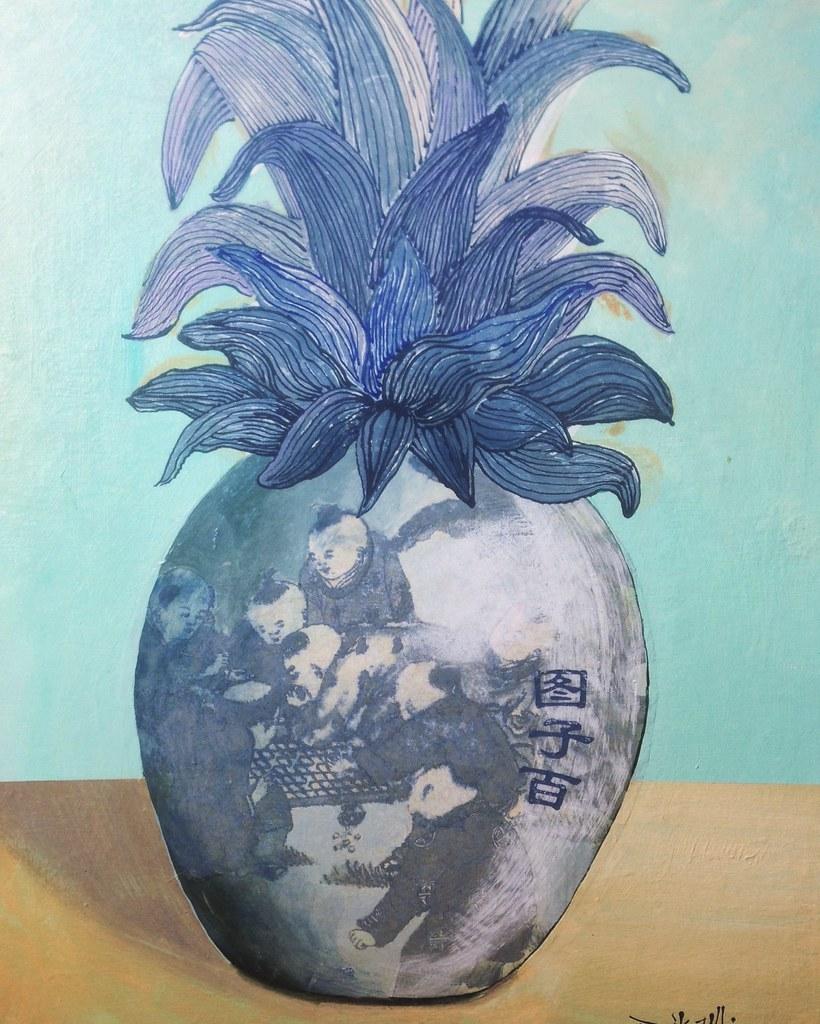 Pineapple II (Jingdezhen Jar)