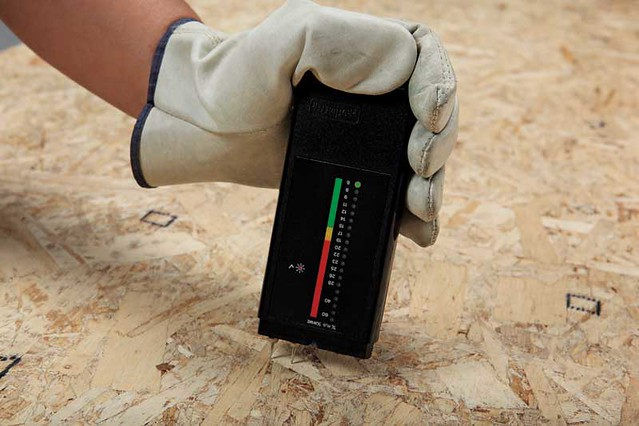 Checking Moisture levels for Wood Flooring