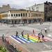 Rainbow Crosswalk 2018 by NYCDOT