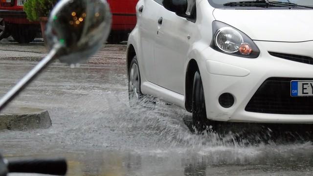 Αυγουστιάτικη βροχή στη Λευκάδα