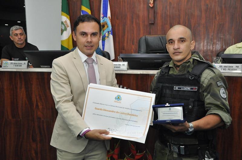 Solenidade em comemoração ao aniversário da Guarda Municipal de Fortaleza (10.08.2018)