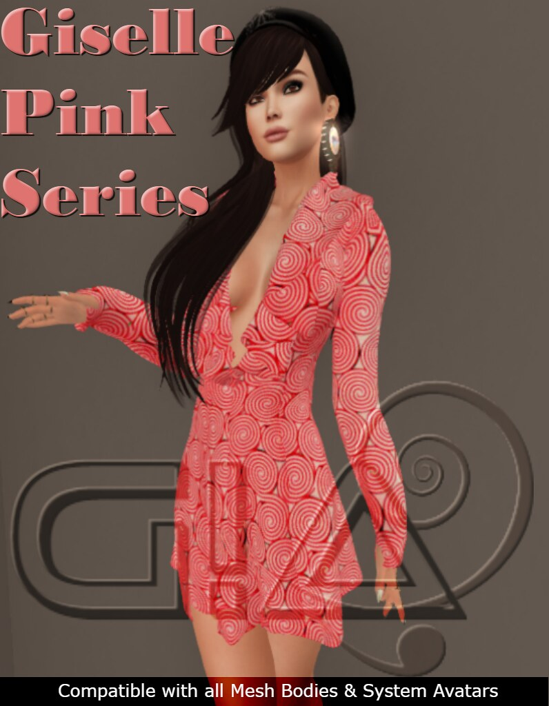 Giselle Pink Series1 Vendor