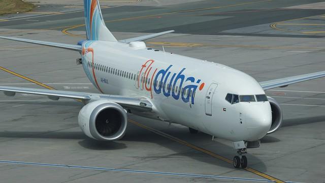 A6-MAX Boeing 737-8MAX FlyDubai @ OTP