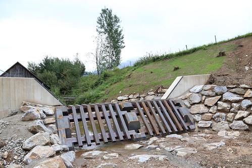 Geschieberückhaltesperre: Hochwasserschutz Pöneggbach Kapfenberg