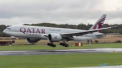 A7-BFA B777-FDZ Qatar Airways Cargo