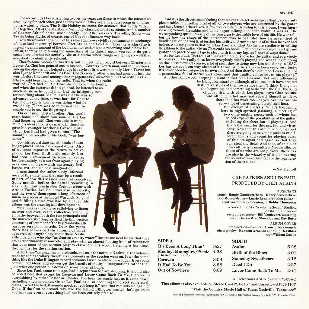 Chet Atkins & Les Paul - Chester & Lester