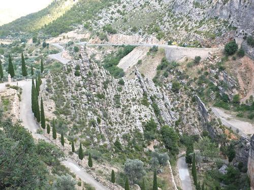 Ermita del Llovedor - Vista desde la subida