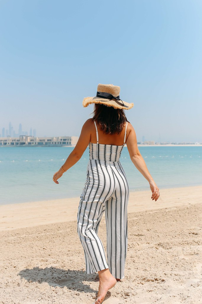 The Little Magpie New Look Striped Swimsuit