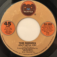 TODD RUNDGREN:A DREAM GOES ON FOREVER(LABEL SIDE-B)