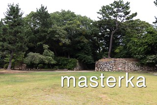 吉田城の天守跡