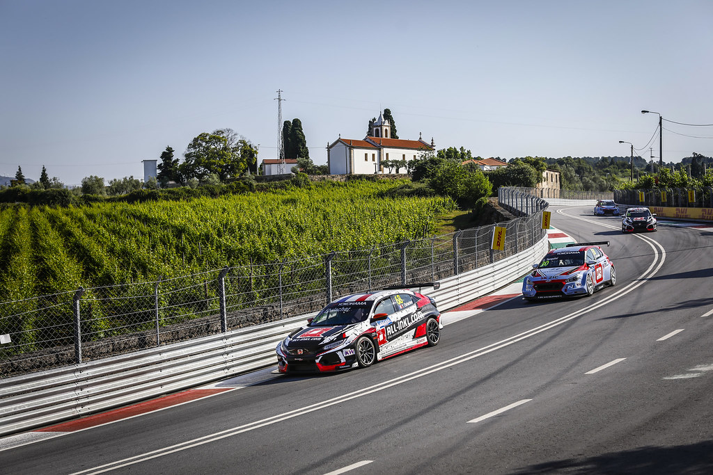 68 EHRLACHER Yann, (fra), Honda Civic TCR team ALL-INKL.COM Munnich Motorsport, action during the 2018 FIA WTCR World Touring Car cup of Portugal, Vila Real from june 22 to 24 - Photo Francois Flamand / DPPI