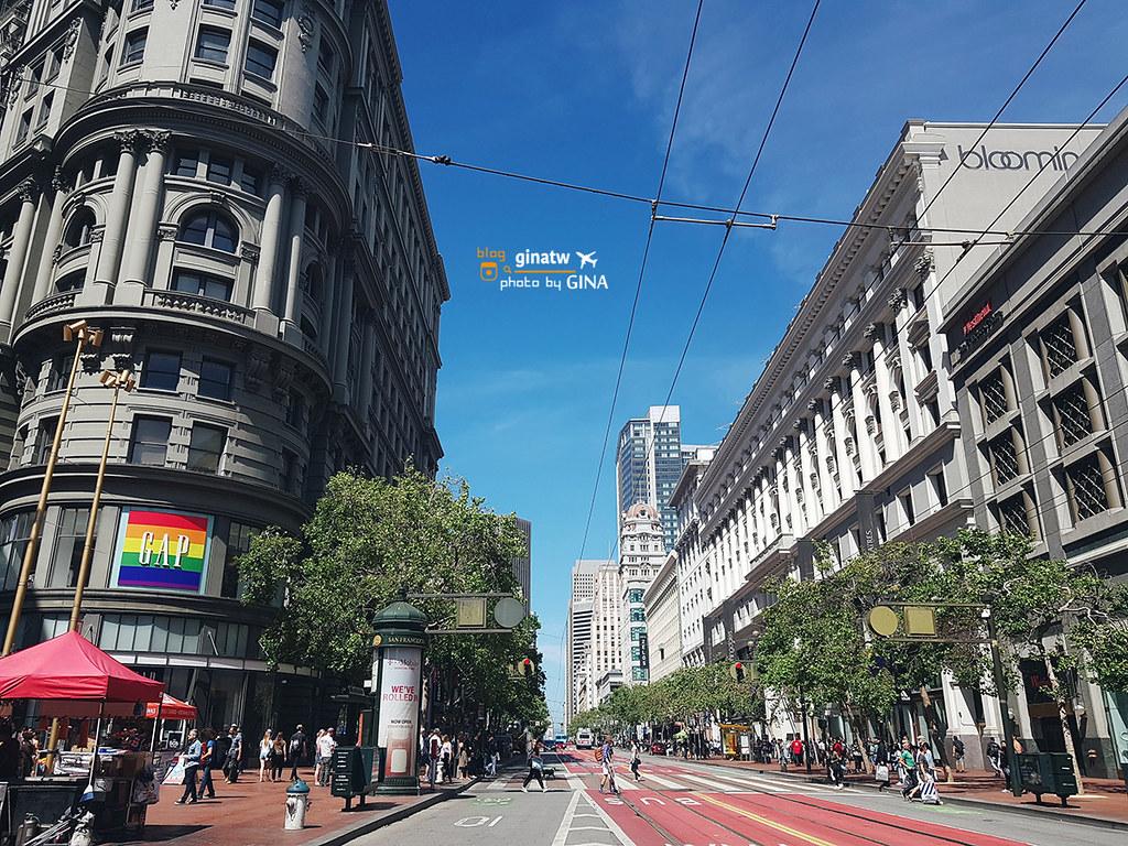 2020 舊金山玩什麼?漁人碼頭、電鐵公車系統搭乘、市區租借腳踏車教學 @Gina Lin