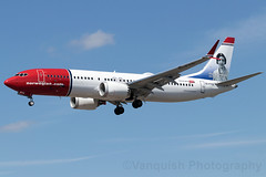 EI-FYG Maria Zambrano Special Livery B737 Max 800 Norwegian Air Intern