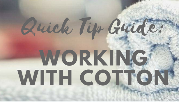 Working with Cotton