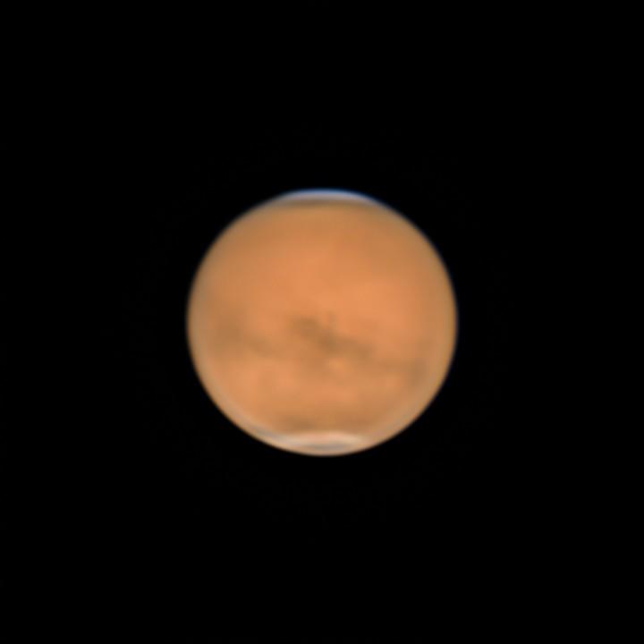 火星の自転 (2018/7/31)