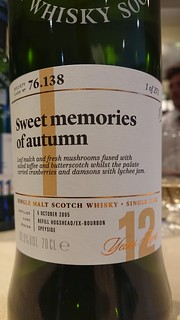SMWS 76.138 - Sweet memories of autumn