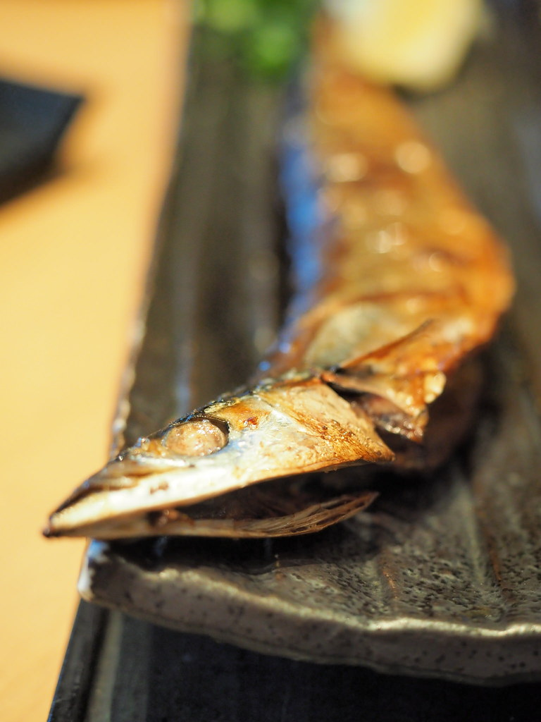 Sanma fish from Rakuzen's Yakizakana Zen (Grilled Fish Set)