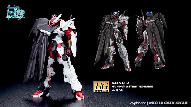 HGBD Gundam Astray No-Name