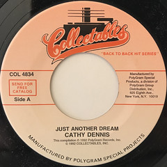 CATHY DENNIS:JUST ANOTHER DREAM(LABEL SIDE-A)
