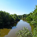 River Dee from the viaduct, 2018 Jul 08