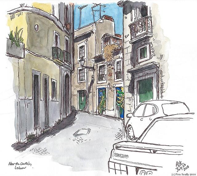 Lisbon Alfama Street sm