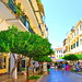 rue de la vieille ville de Corfou, Grèce by moimariep
