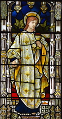 St John (Henry Holiday for Powell & Sons, 1878)