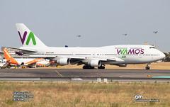 Wamos Air B747