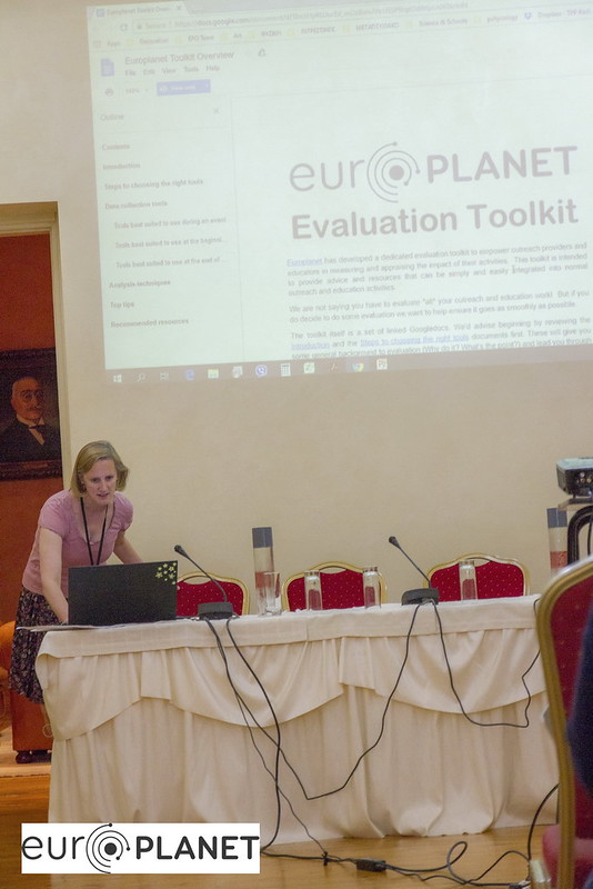 Europlanet Outreach Workshop Athens 2018